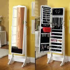 mirror and jewelry cabinet best jewelry storage the best full length mirror jewellery cabinet