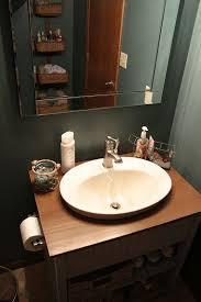 Recessed Bathroom Vanity by Best 25 Bathroom Semi Recessed Basins Ideas On Pinterest Semi