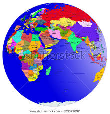asia globe map world map countries globe planet earth stock vector 523349092