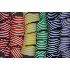 striped grosgrain ribbon 1 5 taffy stripe grosgrain ribbon