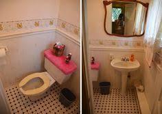outhouse wallpaper border bathroom glendale arizona tacky ugly