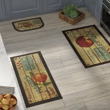 august grove corrine 3 piece fruit crate kitchen mat set u0026 reviews