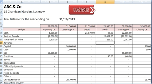 Free Excel Accounting Templates Free Accounting Templates In Excel