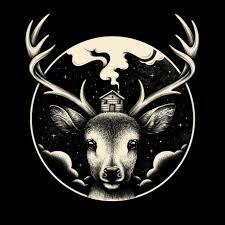 deer home an art print by enkel dika inprnt