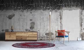 tappezzeria pareti casa carta da parati in stile industrial chic ideale per un loft