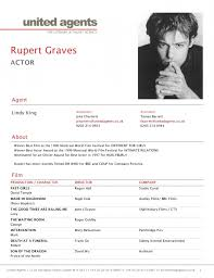 actor resume template gallery of what is a cv for actors resume template exle