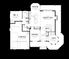 Wrap Around Porch Floor Plans by Mascord House Plan 22128 The Kensington