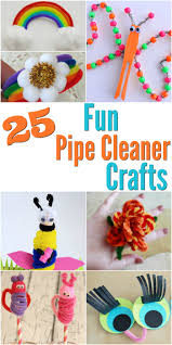 25 pipe cleaner crafts