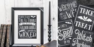 free printable halloween signs jessie k design