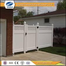 vinyl cheap garden fence and gate designs buy garden fence and