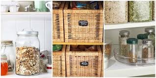 ideas for kitchen organization 15 pantry organization ideas how to organize a kitchen baskets