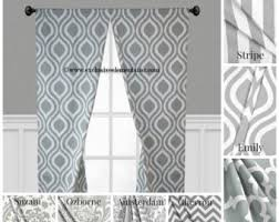 Gray Window Curtains Grey Curtains Etsy