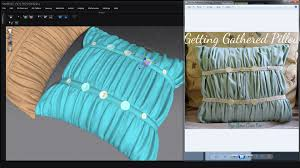 Designer Pillows Marvelous Designer 4 How To Make Pillows Winkles By Doan Nguyen