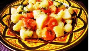 recette cuisine pomme de terre salade de pomme de terre carottes recette facile aux délices