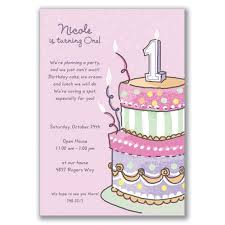 1st birthday party invitation cards iidaemilia com