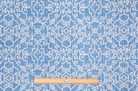Upholstery Fabric Prints Premier Prints Ramey Printed Polyester Upholstery Fabric In Cobalt