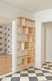 Creative Diy Wood Ls Remove That Cheapo Cardboard From The Back Of Pre Fab Shelving