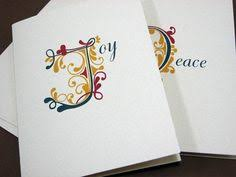 10 peace on earth seed paper christmas cards personalized