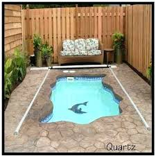 Swimming Pool Ideas For Small Backyards Small Backyard Inground Pool Ideas Inground Swimming Pool Deck