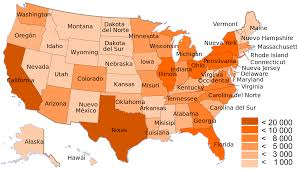 Population Density Map Us If Every Us State Had The Same Population What Would The Map Of