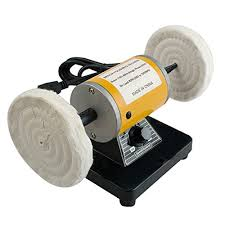 Bench Mounted Buffer Bench Grinder Polisher Buffer Tools Compare Prices At Nextag