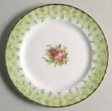 roses china royal albert country roses green border at replacements ltd
