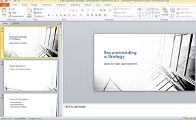 free template powerpoint 2013 free business direction template for