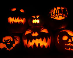 black and orange halloween background 1280x1024 halloween pumpkins desktop pc and mac wallpaper