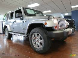jeep billet silver metallic 2013 jeep wrangler unlimited sahara 4x4 in billet silver metallic