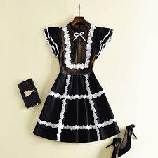 high quality fashion 2018 summer designer runway dress s