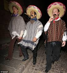Amigos Halloween Costume Ricky Whittle Prepares Ride Sunset Western