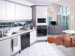 Curved Kitchen Cabinets by Astonishing Curved Shape Beachy Brights Kitchen Featuring White