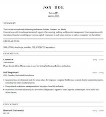 Online Resume Generator Resume Builder Free Resume Template And Professional Resume