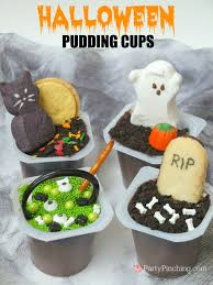 halloween pudding cups easy fun halloween treats for kids