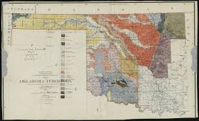 map of oklahoma geologic map of oklahoma discovered on display soon local