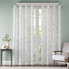 Patterned Sheer Curtains Sheer Curtains For Less Overstock