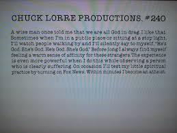 Vanity Card Chuck Lorre Productions Vanity Card 240 After The Big Bang