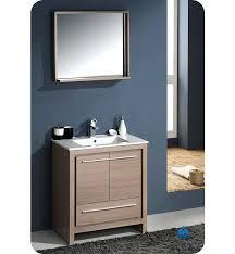 Oak Bathroom Vanity Unit Oak Bathroom Vanity Modern Double Sink Bathroom Vanity W One Side