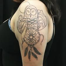 tattoo girl owl 30 tattoo designs for girls ideas design trends premium psd