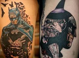 batman tattoos for men ideas and designs for guys