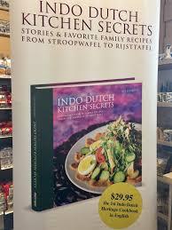 cookbook indo dutch kitchen secrets by jeff keasberry