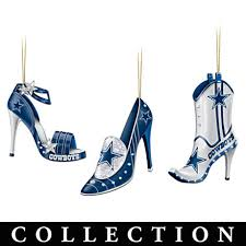 dallas cowboys high heel shoe ornament collection for my cowboys