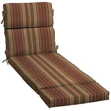 Lowes Allen And Roth Outdoor Furniture - shop allen roth stripe standard patio chair cushion for chaise