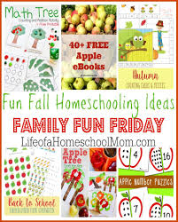 six fun fall homeschooling ideas