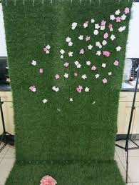 wedding backdrop grass wedding photo backdrop with artificial grass greenery and