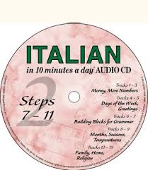 bilingual books italian in 10 minutes a day audio cd