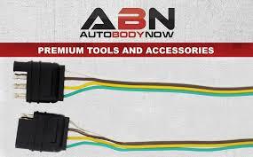 amazon com abn trailer wire extension 8 u0027 foot 4 way 4 pin plug
