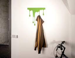 adhesive wall hooks wall mounted coat rack drop l self adhesive hook a gadget flow