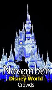 disney world crowd calendar november 2018 l kennythepirate