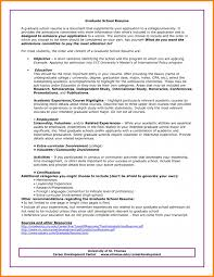 Resume For Graduate School Admission   Samples Of Resumes    Resume For Graduate School Example Agreementtemplates sjf